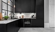 cuisine noir mat cuisine la nouvelle tendance deco