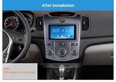 car engine repair manual 2012 kia forte navigation system silver combination 2din 2009 kia forte manual ac car radio fascia panel plate audio player
