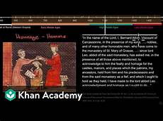 Feudal System During The Middle Ages Khan Academy
