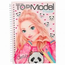Topmodel Depesche Malvorlagen Depesche Topmodel Pocket Colouring Book 3d Petit Bazaar