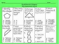 worksheets polygons and quadrilaterals 1025 geometry polygons quadrilaterals math centers 3rd grade by tucker s