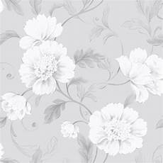 flower wallpaper grey boutique floral wallpaper grey rasch 226188 flowers