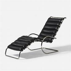198 Ludwig Mies Der Rohe Model 242 Chaise Lounge
