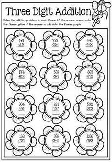 spring math printable no prep packet math second grade math teaching math