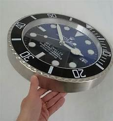 rolex deepsea h 228 ndler display dekoration designer wanduhr