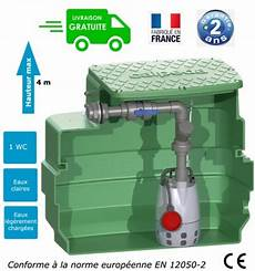 pompe de relevage wc et eaux usées station de relevage eaux l 233 g 233 rements us 233 es domestique