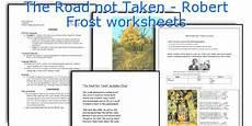the road not taken robert frost worksheets