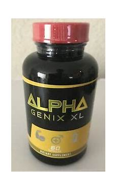 alpha genix xl natural prime testosterone booster male