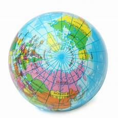 globe diagram earth globe planet world map foam stress relief bouncy press geography alexnld