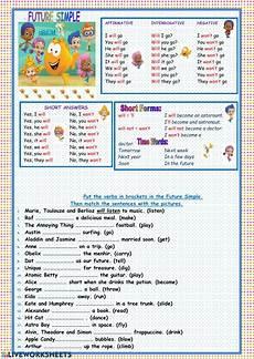 future simple online worksheet for grade 3