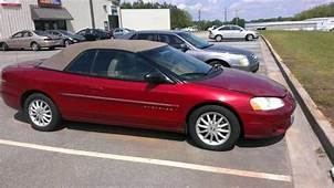 Buy Used 1997 Chrysler Sebring Convertible JXI Green