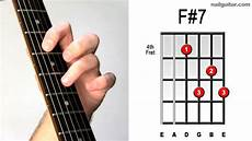F 7 Guitar Chord Tutorial Learn Acoustic Electric