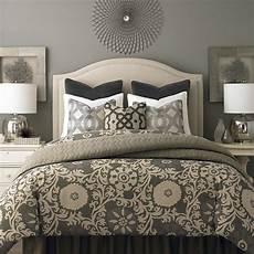 vienna upholstered headboard by bassett furniture beds platform beds