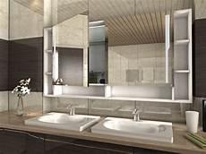 spiegelschrank kleines bad ein bad spiegelschrank mit beleuchtung ist der hingucker