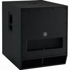 active pa subwoofer yamaha dxs18 active pa subwoofer at gear4music
