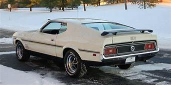 White 1972 Mach 1 Ford Mustang Fastback  MustangAttitude