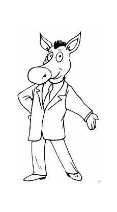 Malvorlage Pferd Comic Pferd Im Anzug Ausmalbild Malvorlage Comics