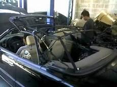 bmw e36 323i convertible top movement by ingjjcruz