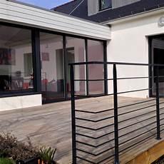 garde corps terrasse design garde corps pour terrasse m 233 tal concept balustrades terrassen gel 228 nder et terrasse