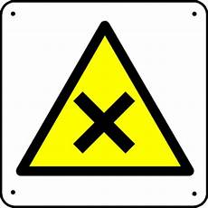 panneau triangle croix mati 232 res nocives picto stocksignes
