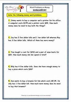 division problem solving worksheets for grade 3 6360 grade 3 maths worksheets 10 5 word problems on money word problems 3rd grade math