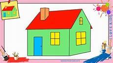 Haus Zeichnen 2 Schritt F 252 R Schritt F 252 R Anf 228 Nger Kinder