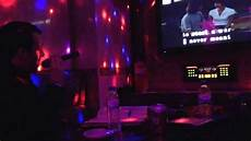 dunkle singing wrecking ball at a karaoke bar in seoul south korea youtube