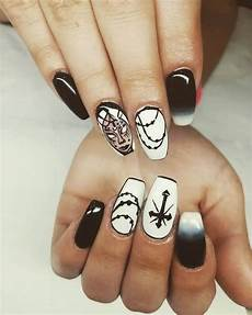 top 35 emo gothic nails to try naildesigncode