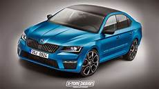 This 2015 Skoda Superb Vrs Rendering Needs Production