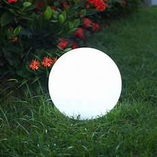 le solaire boule jardin boule lumineuse solaire lumisky solsty c30 multicolore