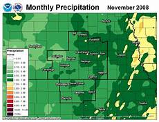 5 present weather and climate 2008 monthly precipitation maps