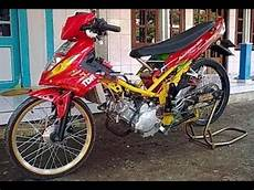 Motor Mx Modifikasi by Tm2 Modifikasi Motor Yamaha Jupiter Mx Drag Style