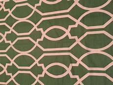 green white trellis pattern fabric
