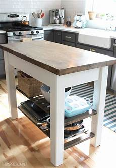 Kitchen Island Cart Diy by 8 Diy Kitchen Islands For Every Budget And Ability