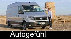 Vw Volkswagen Crafter Review Test Driven All New Neu