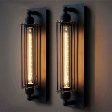 t300 industrial rustic black wall sconce plate l