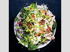 cobb salad with green goddess dressing_image