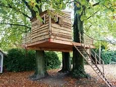 Boomhut Bouwen Idee Tot Echte Boomhut Tree Houses