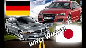Japanese Cars VS German CarsWHO WINS  YouTube
