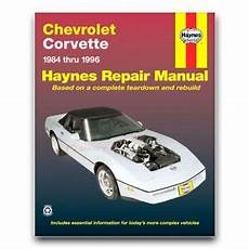 free auto repair manuals 1996 chevrolet caprice parking system haynes repair manual for 1984 1996 chevrolet corvette shop service garage lf ebay