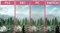 skyrim switch gegen ps3 xbox one und pc im grafikvergleich