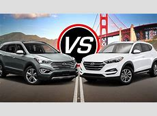 2016 Hyundai Santa Fe Sport vs Tucson Eco   Spec