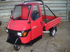 piaggio ape 50 cross catalyzed recently sold browns