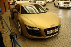 Matte Gold Audi R8 Spotted In Dubai Top Speed