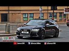 Audi Rs6 Performance Black Rs6 With Sound