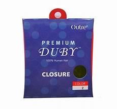 Outre 100 Human Hair Weave Premium Duby Closure