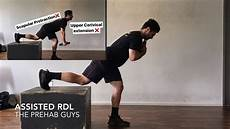 hamstring eccentric strength assisted single leg rdl youtube