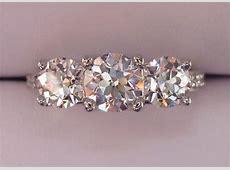 Jewel of the Week   August Vintage Round Diamond Three
