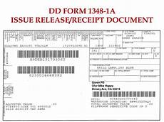 da form 1348 ppt dd form 1348 1a issue release receipt document