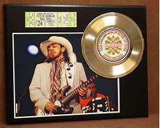 stevie vaughan concert stevie vaughan concert ticket series record limited edition display gold record outlet